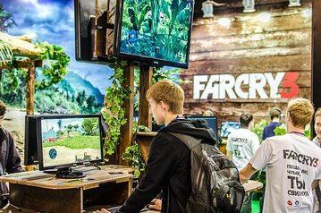 Gracze testujący Far Cry 3