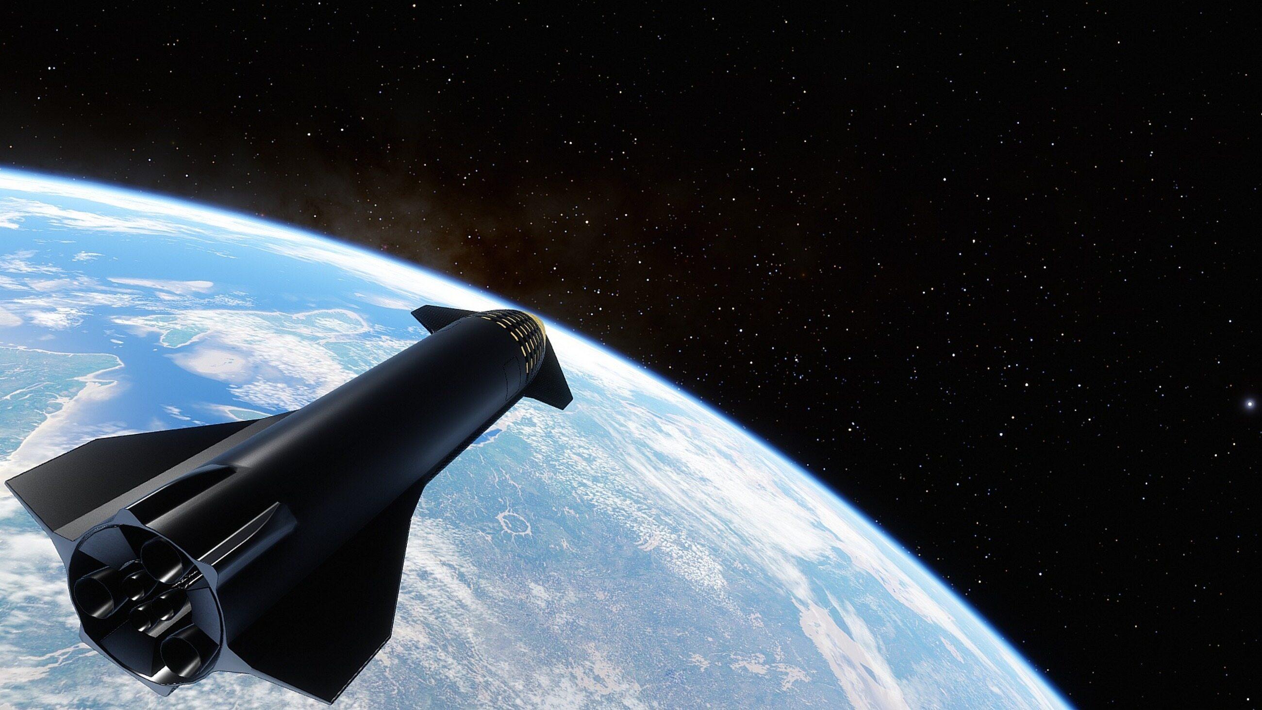 Grafika koncepcyjna Starshipa