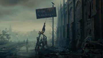 Grafika koncepcyjna z gry Dying Light 2. Stay Human