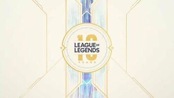 Grafika na 10-lecie League of Legends