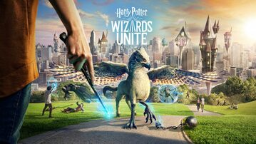 "Grafika promocyjna ""Harry Potter Wizards Unite"" -"