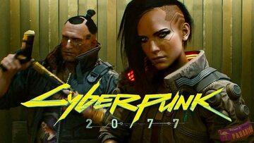 Grafika promująca grę Cyberpunk 2077