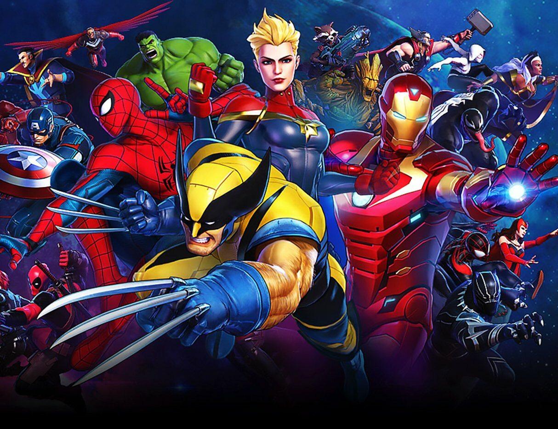 Grafika promująca grę Marvel Ultimate Alliance 3: The Black Order