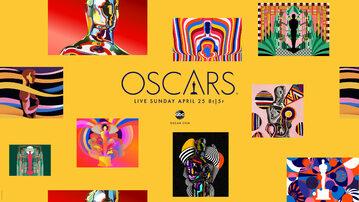 Grafika reklamująca tegoroczne Oscary