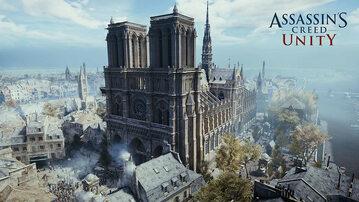 Grafika z gry Assassin's Creed: Unity