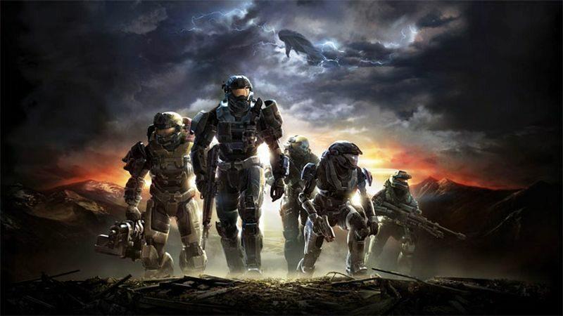 Grafika z gry Halo