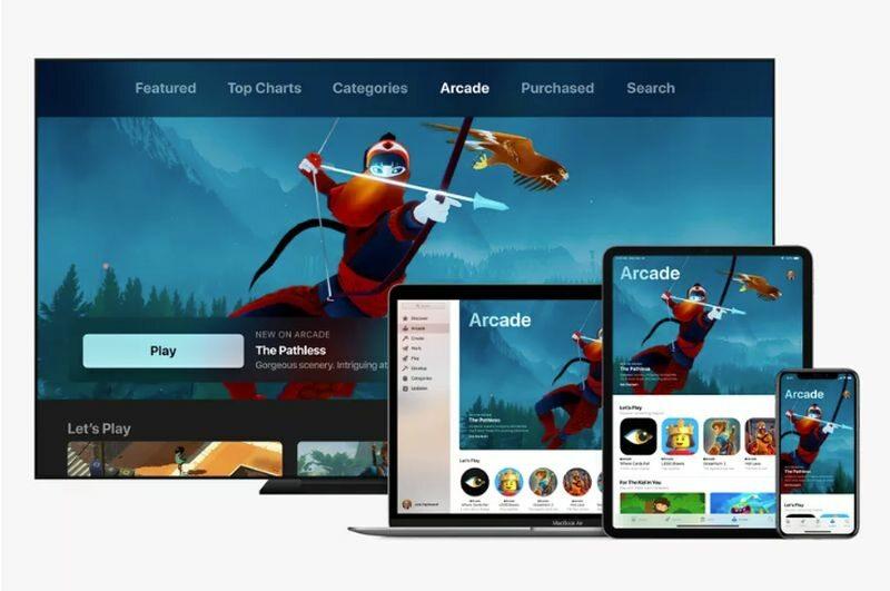 Grafika zapowiadająca Apple Arcade
