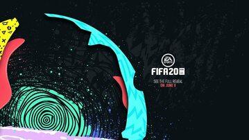 Grafika zapowiadająca grę Fifa 20