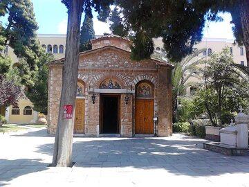 Grecki klasztor prawosławny