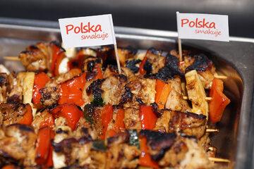 Grillowane szaszłyki z polskich warzyw i mięsa