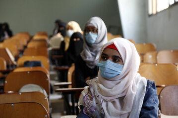 Grupa wolontariuszy w Jemenie