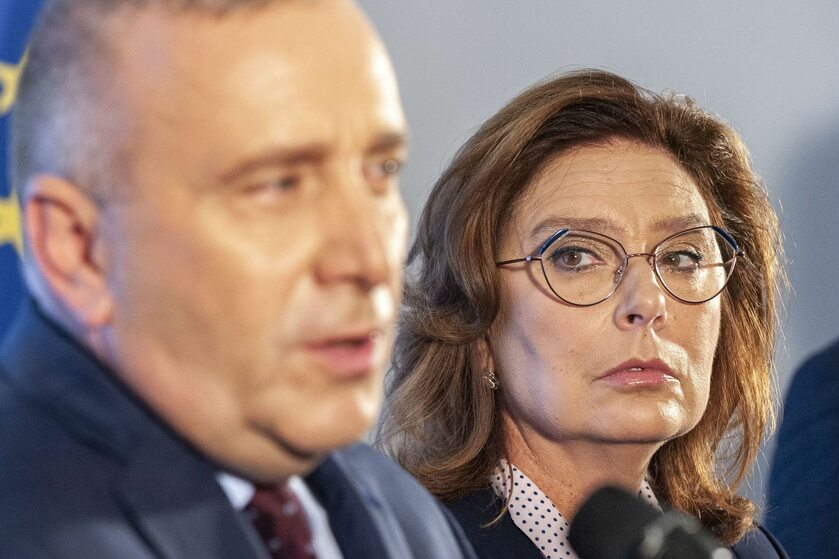 Grzegorz Schetyna i Małgorzata Kidawa-Błonska