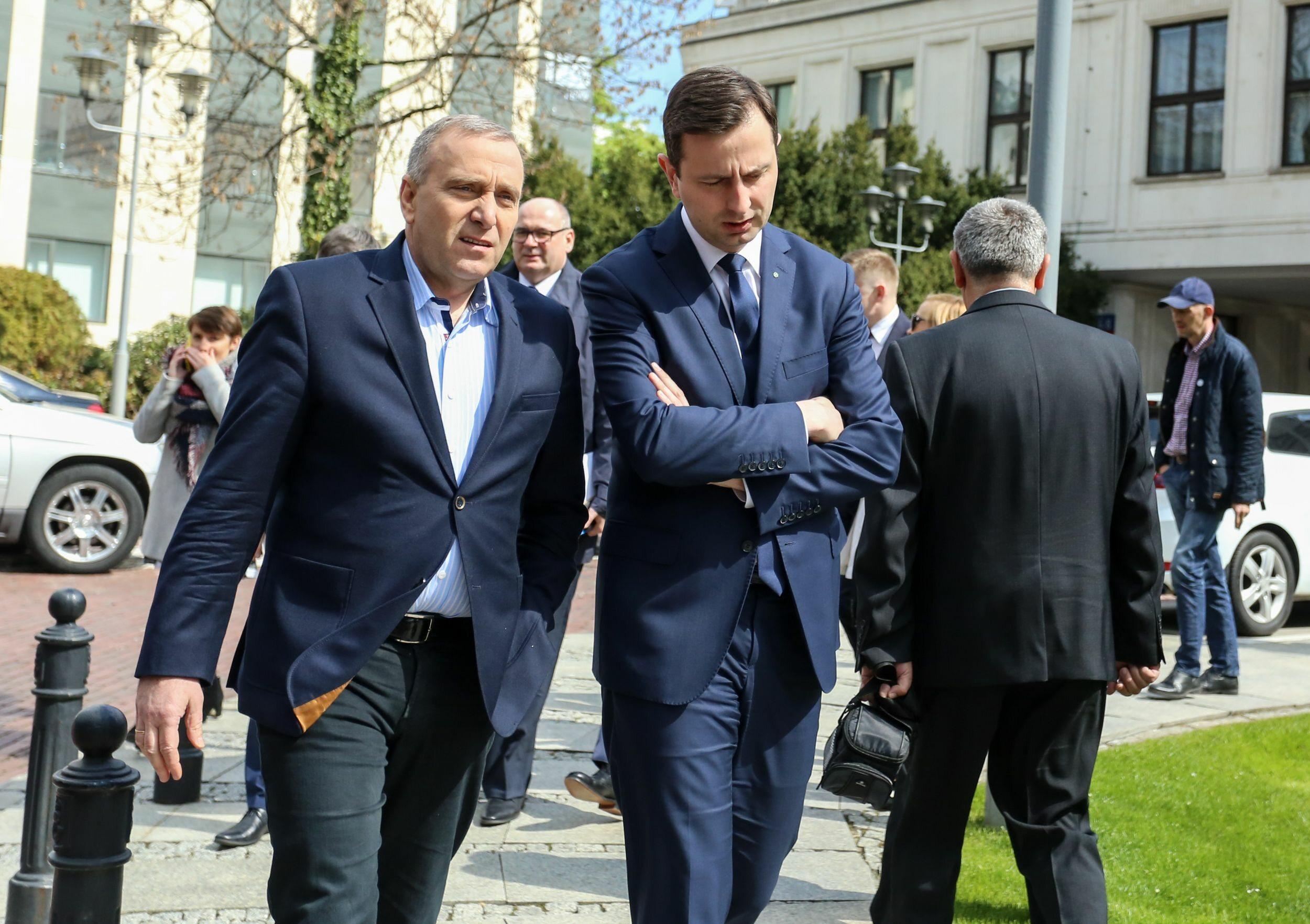 Grzegorz Schetyna i Władysław Kosiniak-Kamysz