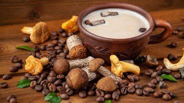 Grzybowe cappuccino