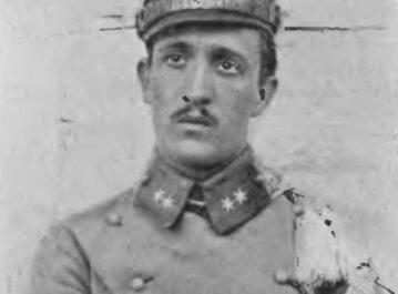 Gustaw Orlicz-Dreszer w 1915 roku