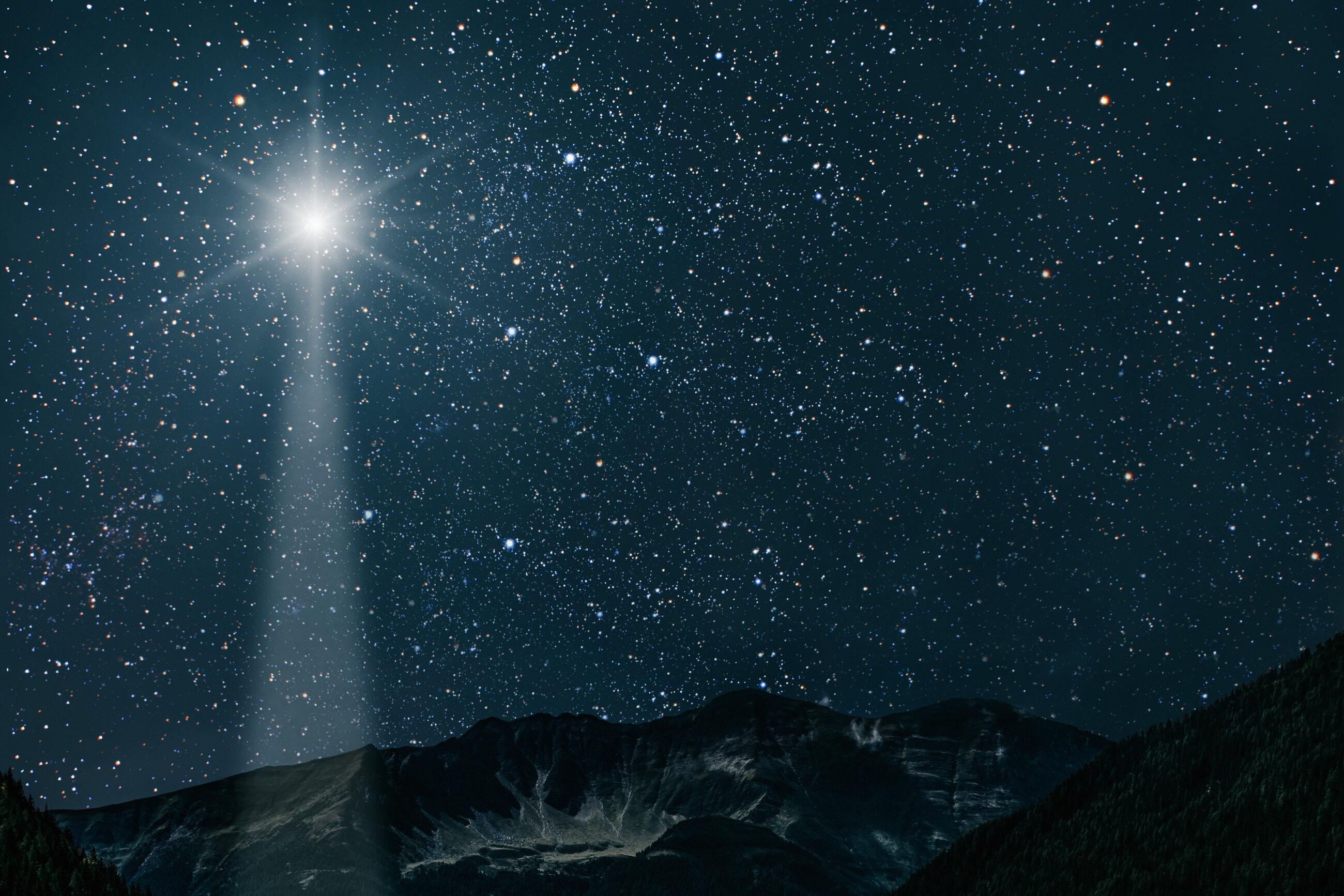 Gwiazda Betlejemska, zdjęcie ilustracyjne