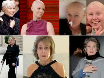 Gwiazdy, które wygrały z rakiem piersi