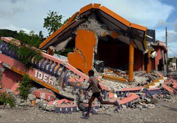 Haiti po trzęsieniu ziemi, sierpień 2021 r.