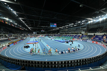 Halowe Mistrzostwa Europy w Lekkoatletyce 2021 (zdjęcie ilustracyjne)