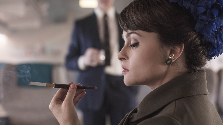 "Helena Bonham Carter w serialu ""The Crown"""