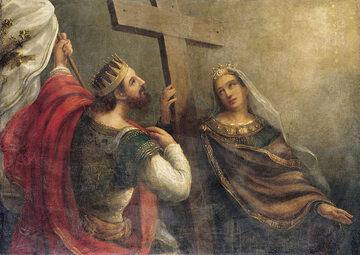Helena ze swoim synem Konstantynem Wielkim