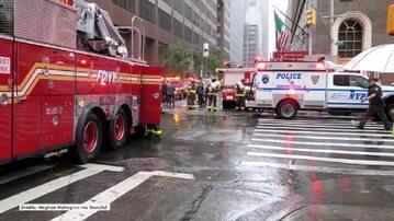 Helikopter uderzył w wieżowiec w Nowym Jorku