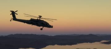 Helikopter wojskowy, zdjęcie ilustracyjne