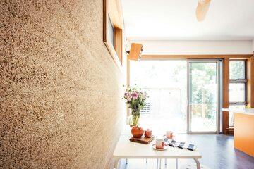 Hempcrete – beton konopny, zdjęcie ilustracyjne