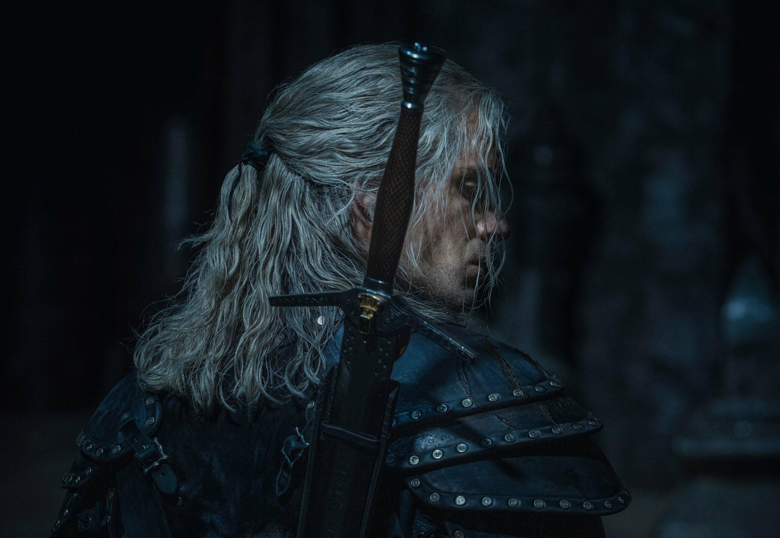Henry Cavill jako wiedźmin Geralt