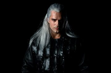 Henry Cavill w roli Geralta z Rivii