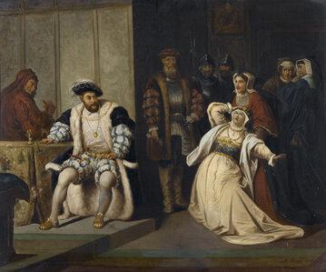 Hentyk VIII i Katarzyna Aragońska na XIX-wiecznym obrazie