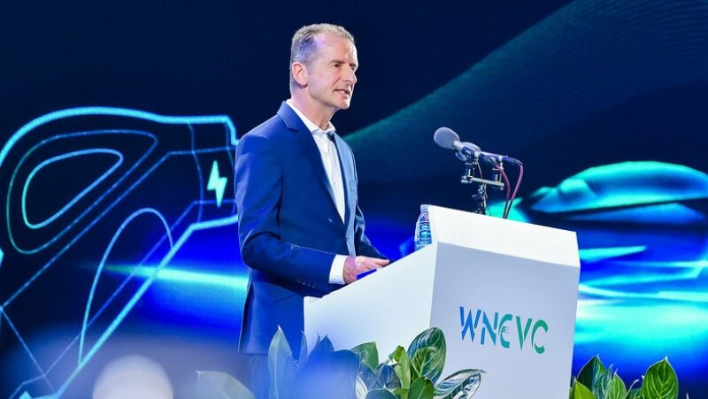 Herbert Diess, dyrektor generalny Volkswagen AG