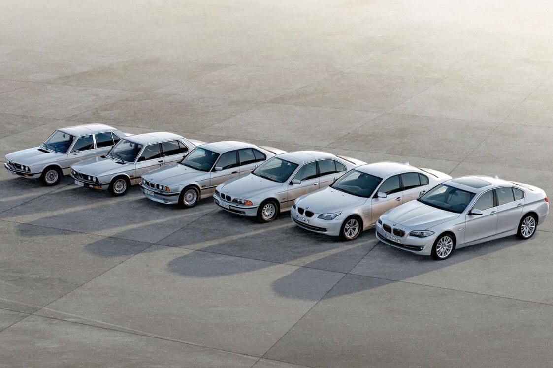 Historia BMW serii 5