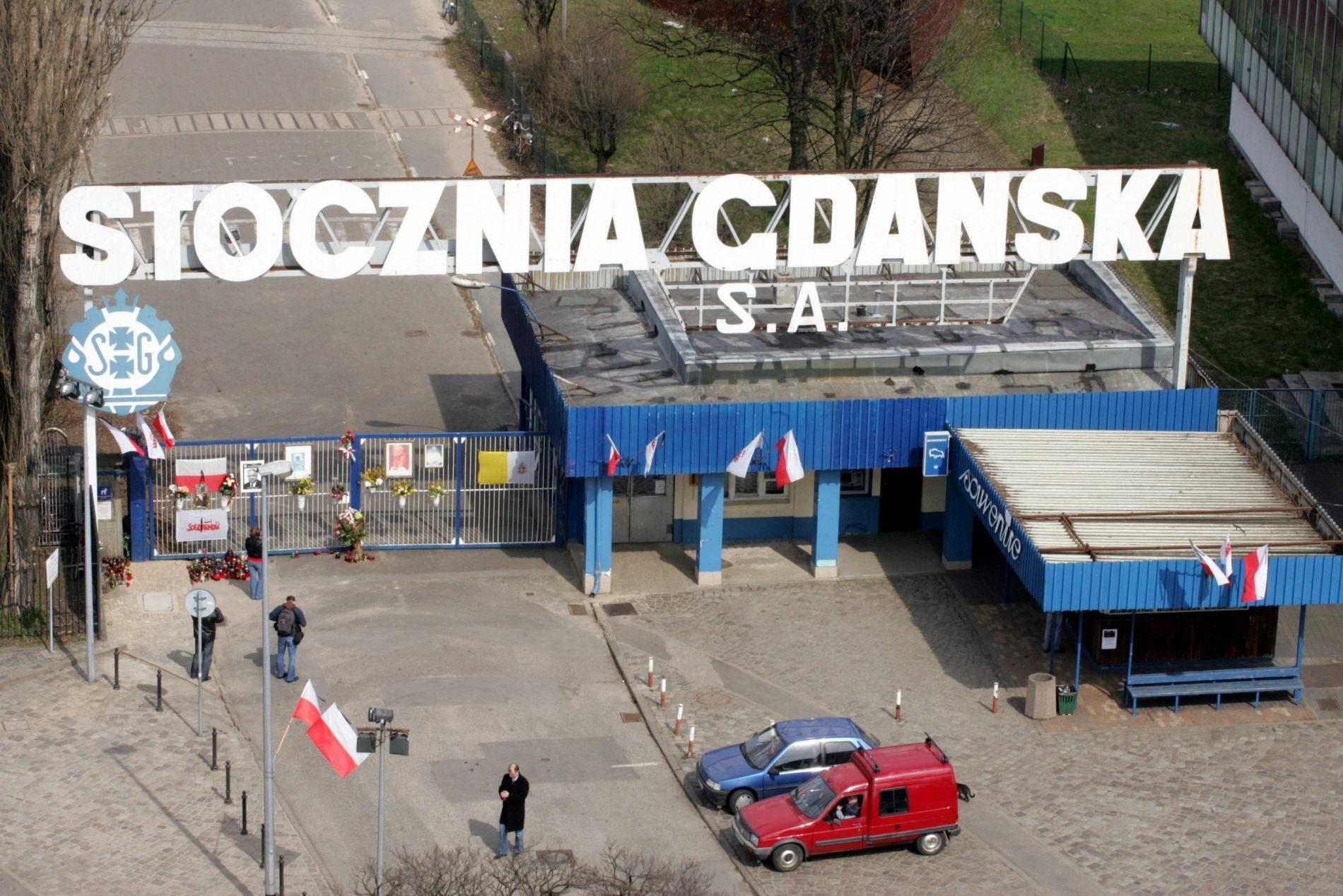 Historyczna brama Stoczni Gdańskiej