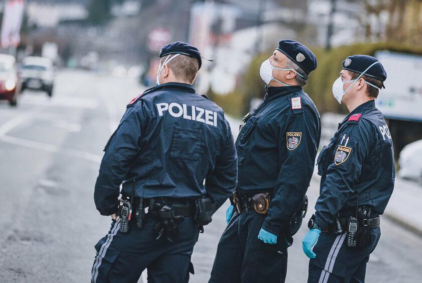 Hiszpańskie służby policyjne