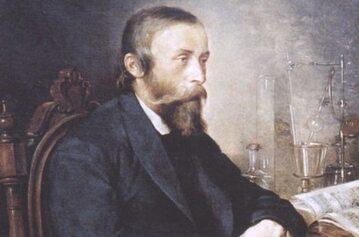 Ignacy Łukasiewicz na portrecie pędzla Andrzeja Grabowskiego