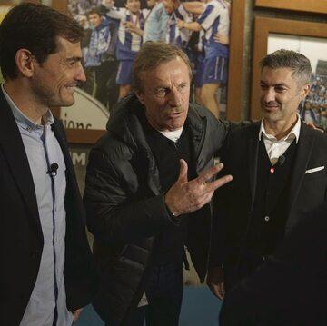 Iker Casillas, Józef Młynarczyk i Vitor Baia