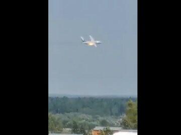 Ił-112 na moment przed katastrofą
