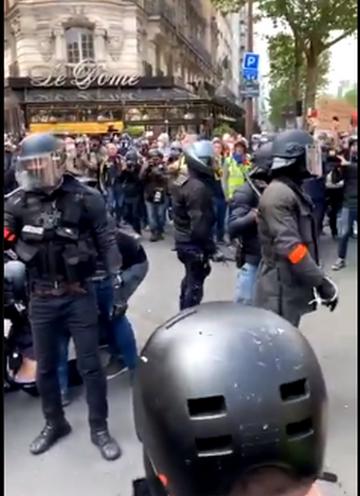 Incydent w Paryżu