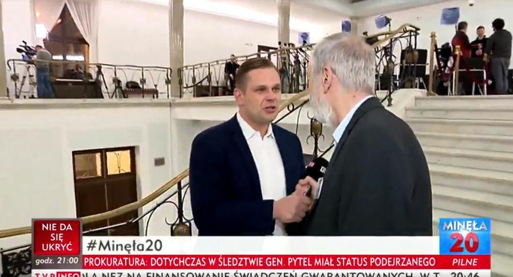 Incydent z udziałem Rafała Grupińskiego i Łukasza Sitka