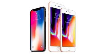 iPhone 8, iPhone 8 Plus oraz iPhone X
