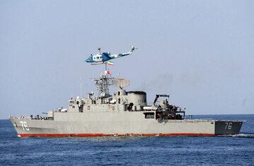 Irańska fregata Jamaran