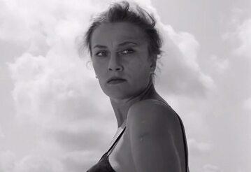 """Irena Laskowska w filmie """"Ostatni dzień lata"""" (1958)"""
