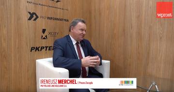 Ireneusz Merchel - Prezes Zarządu PKP Polskie Linie Kolejowe
