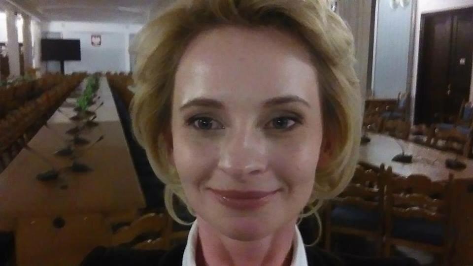 Izabela Pek w Sejmie