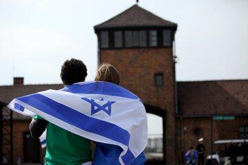 Izraelczycy w Muzeum Auschwitz-Birkenau