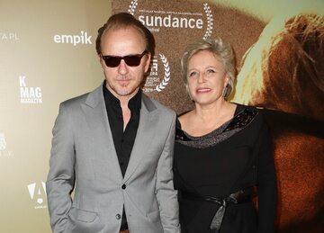 Jacek Borcuch i Krystyna Janda