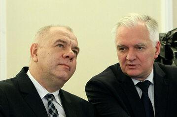 Jacek Sasin i Jarosław Gowin