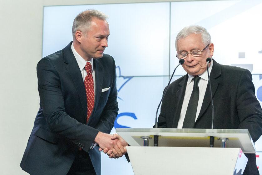 Jacek Żalek, Jarosław Kaczyński