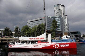 """Jacht """"I love Poland"""""""